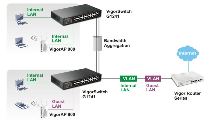 VigorSwitch G1241